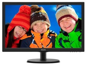 "Philips 223V5LSB 22"" LED VGA DVI Monitor"
