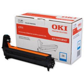 Oki Cyan Drum for C711 Series - 20k