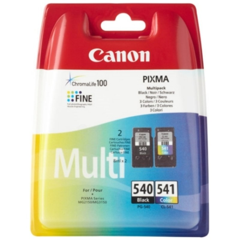 *Canon PG-540/ CL-541 Multi-Pack Ink Cartridge - Black and Colour
