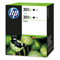 HP 301XL Multi-pack 2x Black Original Ink Cartridge - High Yield	480 Pages - D8J45AE