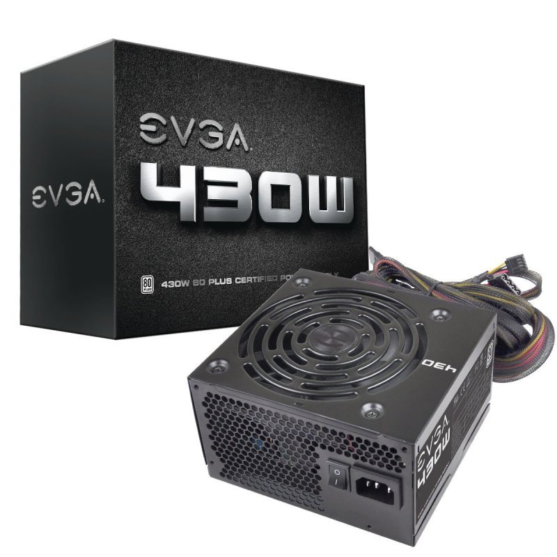 Image of EVGA 430W Fully Wired 80+ Power Supply