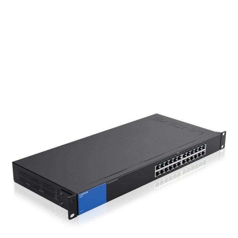 Linksys 1Gb Unmanaged Switch PoE+ 24-port