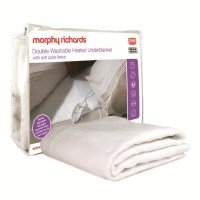 Double Washable Heated Underblanket with Polar Fleece