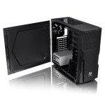 Versa H21 Midi Mesh Tower Case Toolless USB3 Black Interior12cm Fan