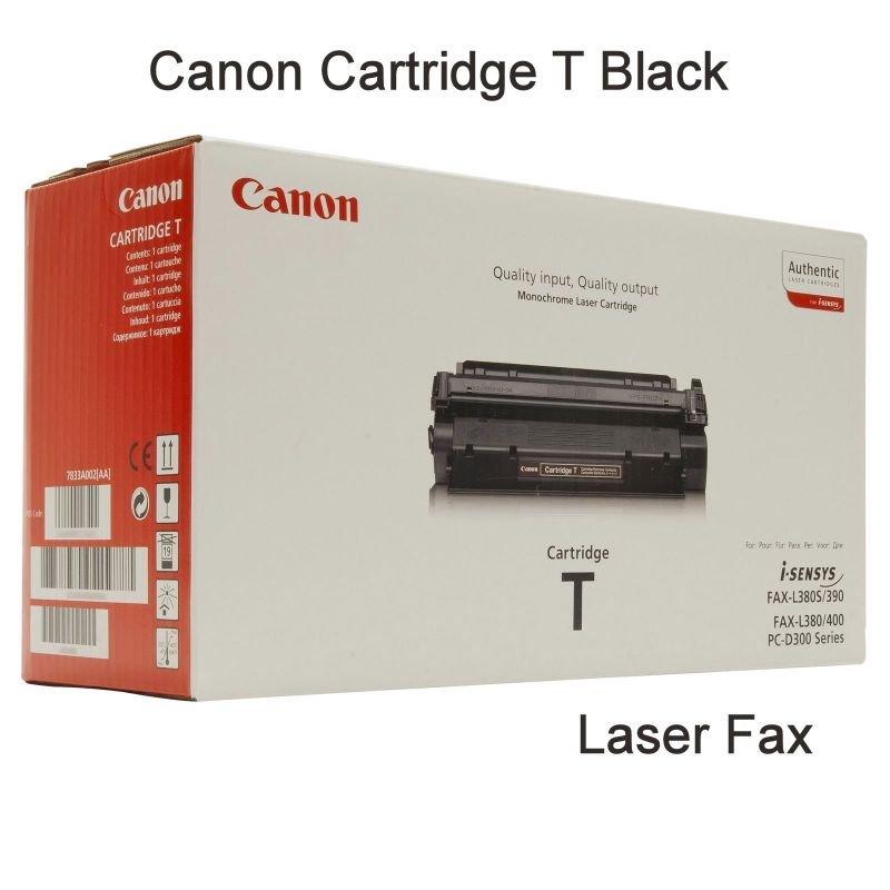 Canon T (7833A002AA) Original Cartridge Black Fax Laser Toner Cartridge