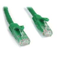 StarTech.com 15 ft Green Snagless Cat6 UTP Patch Cable - ETL Verified