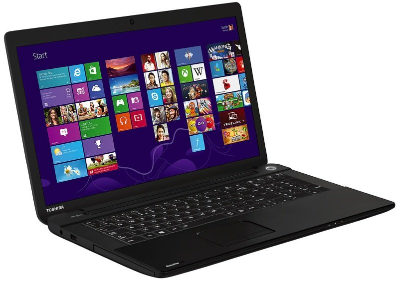 Toshiba Satellite Pro C70A16D Laptop Intel Core i34000M 2.4GHz 4GB RAM 500GB HDD 17.3&quot LED DVDRW Intel HD Webcam Bluetooth Windows 8.1 64bit