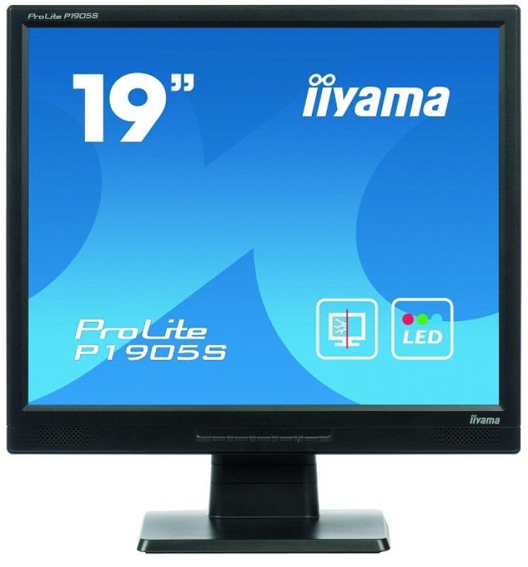 Iiyama ProLite P1905SB2 19&quot Protected LED VGA DVI Monitor