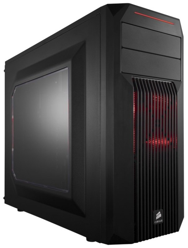 Corsair Carbide Series SPEC02 Red LED MidTower Gaming Case