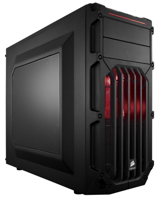 Corsair Carbide Series SPEC03 Red LED MidTower Gaming Case