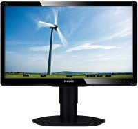 "Philips 200S4LMB 20"" LED VGA DVI Monitor"