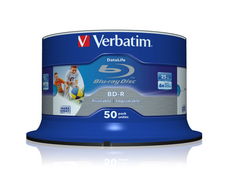 Verbatim 6x BDR 25GB 50 Pack Spindle