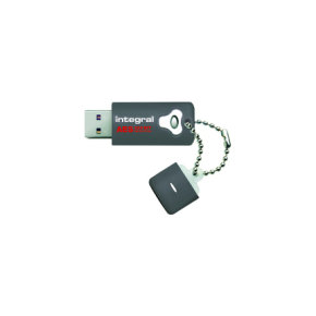 Integral Crypto Advanced Encryption Standard (AES) FIPS 197 Encrypted 32GB USB 2.0 Flash Drive
