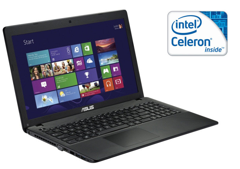 Asus X551MA Laptop Intel Celeron DC N2815 1.86GHz 4GB RAM 500GB HDD 15.6&quot LED DVDRW Intel HD Webcam Windows 8 64bit