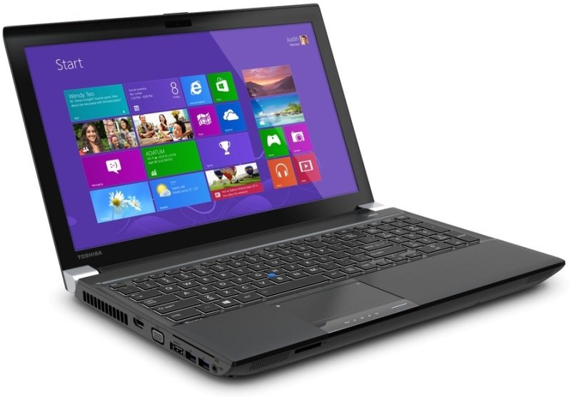 Toshiba Tecra W50A102 Laptop Intel Core i74800MQ QC 2.7GHz 32GB RAM 256GB SSD 15.6&quot LED DVDRW NVIDIA K2100M Webcam Bluetooth Windows 7 Pro with Windows 8.1 Pro Upgrade