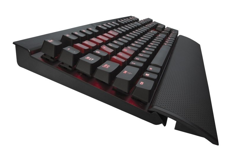 Corsair K70 BLACK Mechanical Gaming Keyboard - Cherry MX Brown Keys