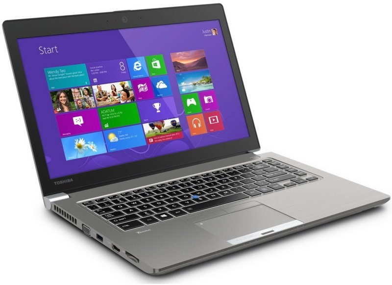 Toshiba Tecra Z40A11U Laptop Intel Core i54300U 1.9GHz 4GB RAM 128GB SSD 14&quot LED NODVD Intel HD Webcam Bluetooth Windows 7 Pro with Windows 8.1 Pro Upgrade