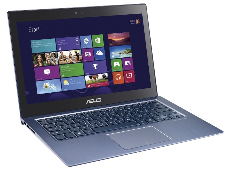 Asus ZenBook UX302LA Ultrabook Intel Core i54200U 1.6GHz 4GB RAM 750GB HDD 16GB SSD 13.3&quot Touch NODVD Intel HD Webcam Bluetooth Windows 8 64bit