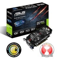 Asus GTX 750 Ti OC 2GB GDDR5 Dual DVI HDMI PCI-E Graphics Card