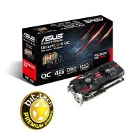 Asus R9 290 DirectCU II 4GB GDDR5 Dual DVI HDMI DisplayPort PCI-E Graphics Card