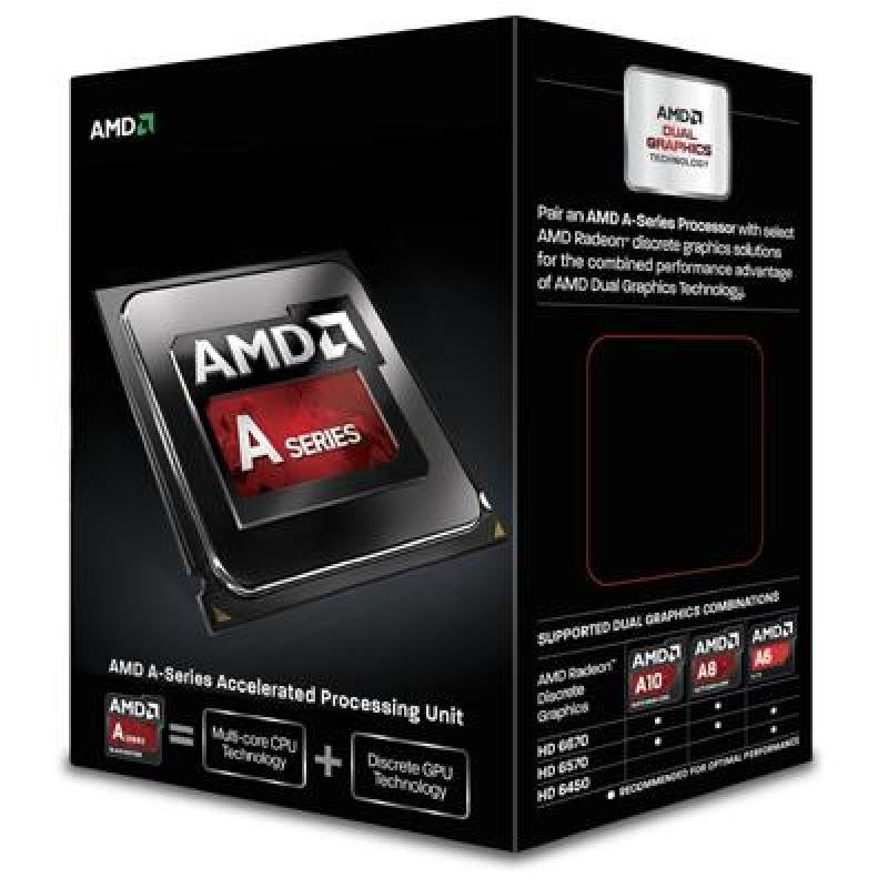 Image of AMD APU A6 6420K 4GHz Socket FM2 1MB L2 Cache Retail Boxed Processor