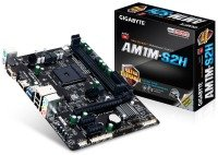 Gigabyte GA-AM1M-S2H Socket AM1 VGA HDMI 7.1 Channel Audio mATX Motherboard