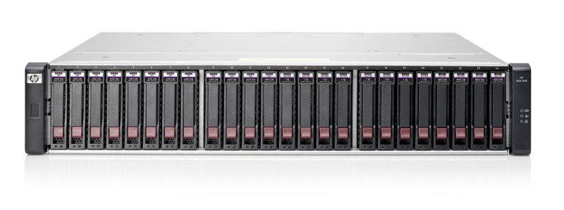 HPE MSA 2040 SAN Dual Controller LFF Storage