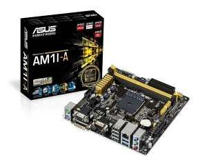 Asus AM1I-A Socket AM1 VGA DVI HDMI  8-Channel HD Audio Mini ITX Motherboard