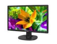 "Hanns-G HL226HPB 21.5"" HDMI Monitor with Speakers"
