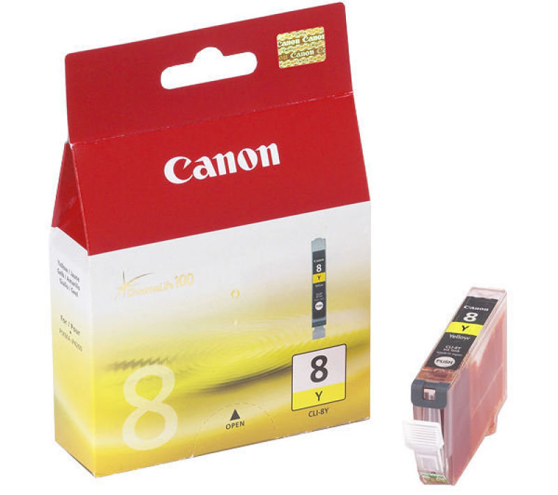 Canon CLI 8Y Yellow Ink Cartridge