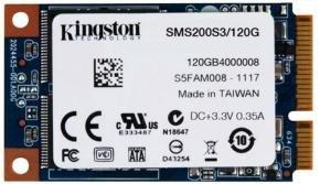 Kingston SSDNow 120GB mSATA 6Gbps SSD