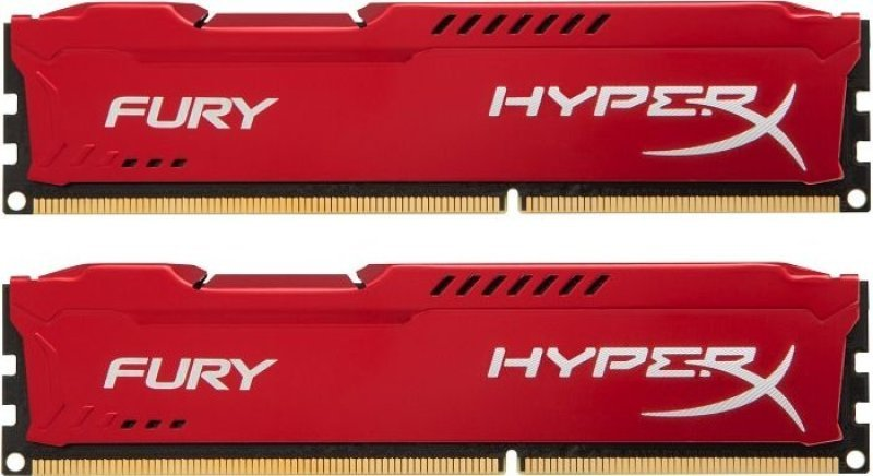 HyperX 8GB 1333MHz DDR3 CL9 DIMM (Kit of 2) HyperX Fury Red Series