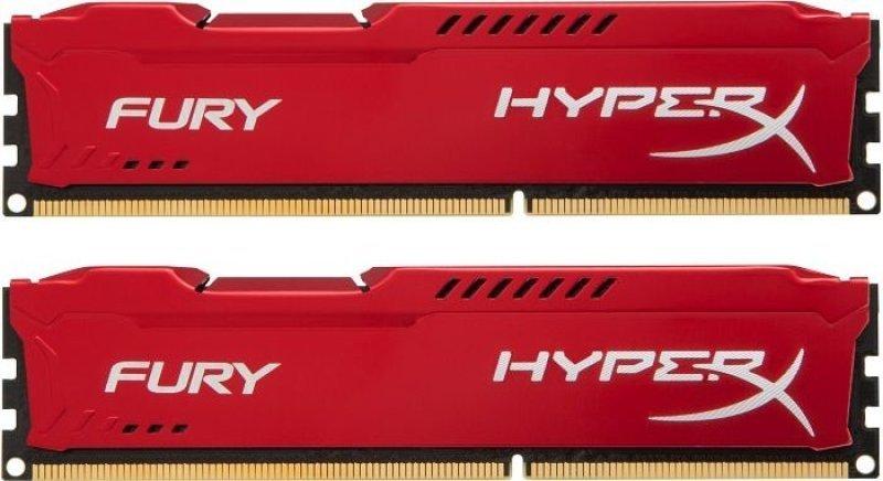 HyperX 8GB 1333MHz DDR3 CL9 DIMM (Kit of 2) HyperX Fury Red Series