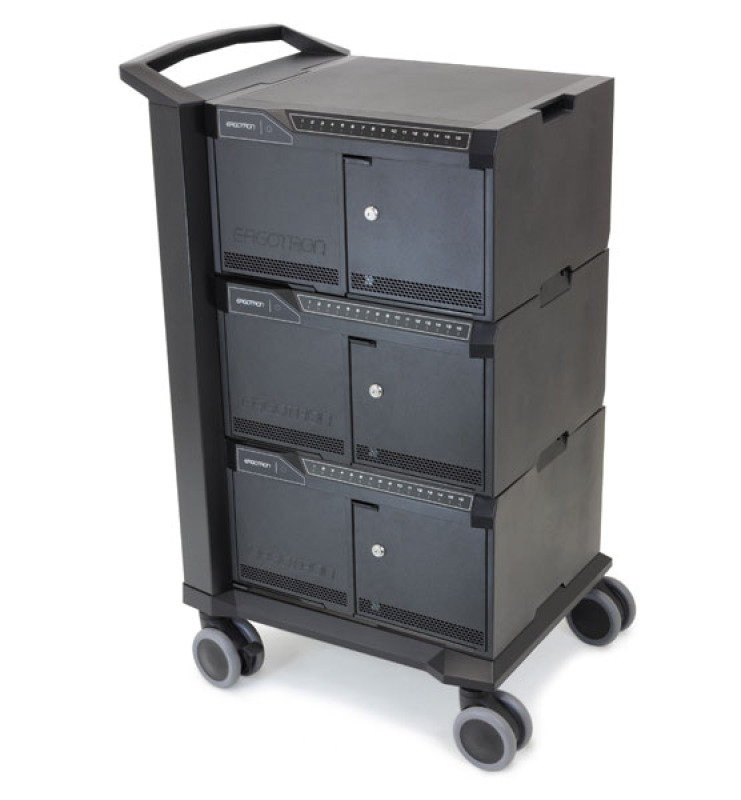 Image of Tablet Management Cart 48, with ISI - for iPad