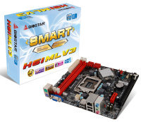 Biostar H61MLV3  Socket 1155 VGA 6-Channel HD Audio Micro ATX Motherboard