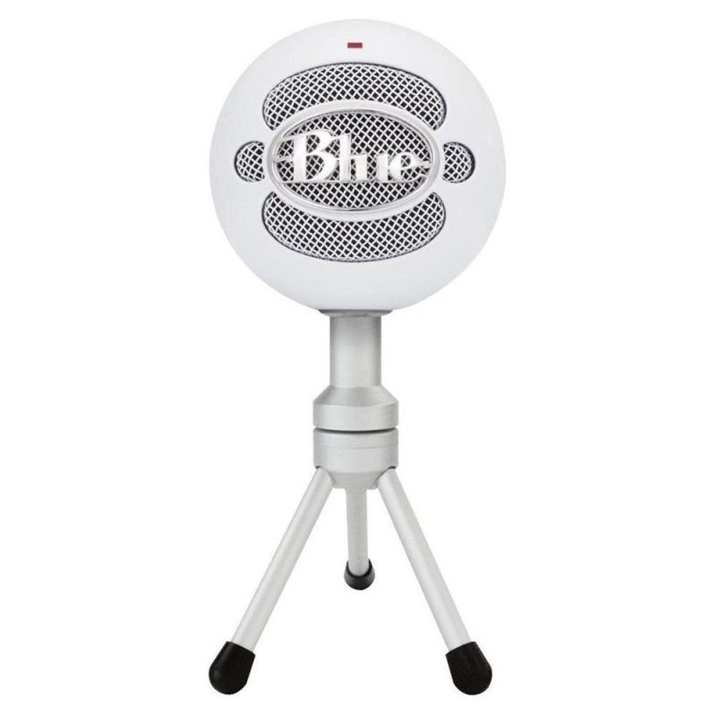 Image of Blue Microphone Snowball USB Microphone-White