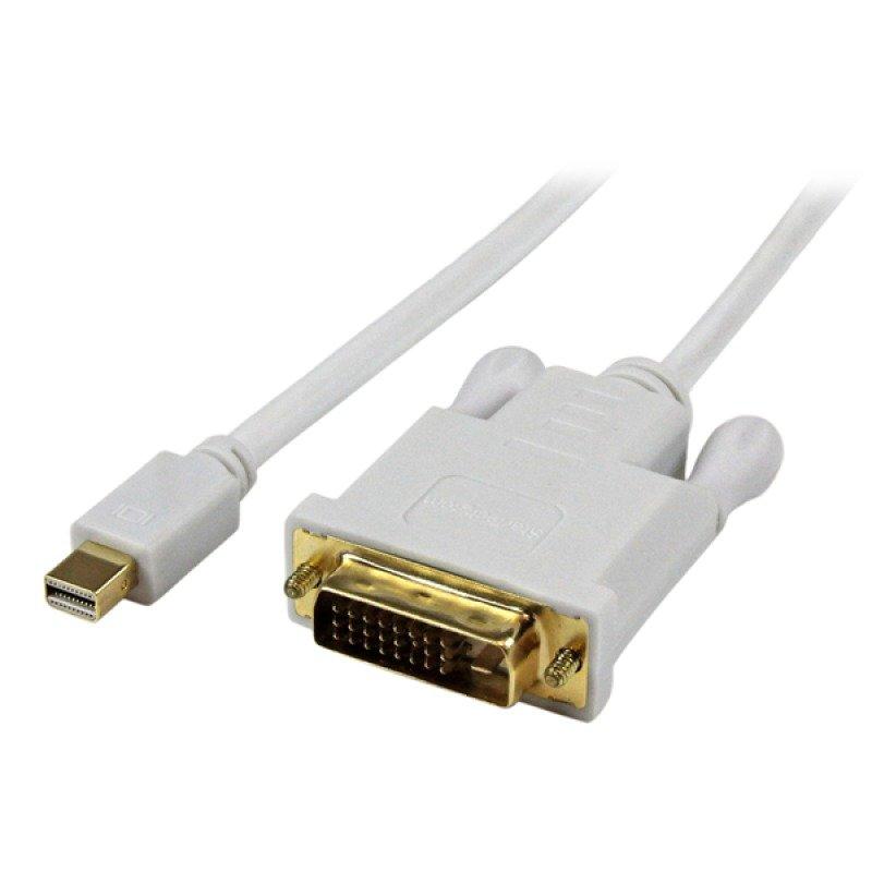 Startech.com 6 Feet Mini Displayport To Dvi Adapter Converter Cable - Mini Displayport To Dvi 1920x1200 - White