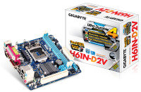 Gigabyte GA-H61N-D2V Socket 1155 DVI 7.1 Channel HD Audio Mini-ITX Motherboard