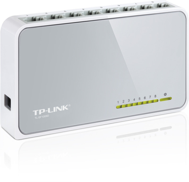 TP-Link TL-SF1008D 8-port 10/100 Switch