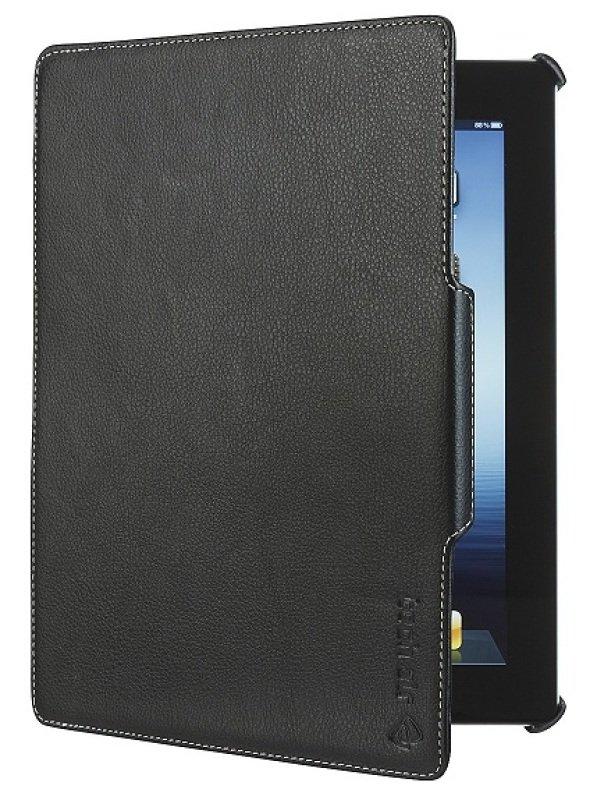 Tech Air Ipad Air Premium Folio In Black  Faux Leather Black