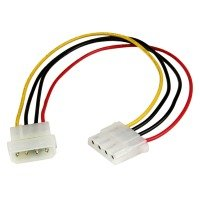 Startech.com (12 Inch) Molex Lp4 Power Extension Cable - M/f