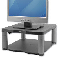 Fellowes Premium Monitor Riser - Graphite