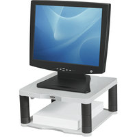 Fellowes Premium Monitor Riser - Platinum