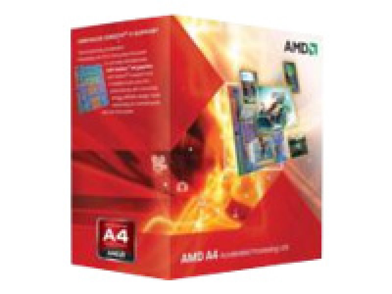 Image of AMD APU A4 6320 3.80GHz Socket FM2 1MB L2 Cache Retail Boxed Processor