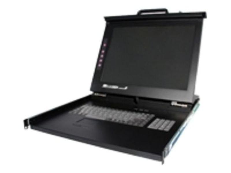 StarTech.com 1U 19&quot Rackmount LCD Console  USB  PS2