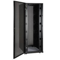 42U Rack Enclosure Server Cabinet Wide Doors & Sides 3000lb Cap