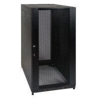 25U Rack Enclosure Server Cabinet w Doors & Sides