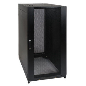 25U Rack Enclosure Server Cabinet w Doors & Sides