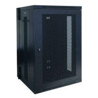 Tripp Lite 18U Wall mount Rack Enclosure Cabinet w/ Door and Side Panels