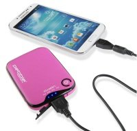 Veho Pebble Verto Portable Charger 3700mAh Pink